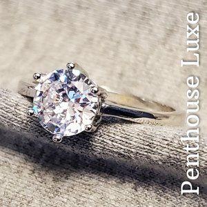 💎 10K Diamond Solitaire Engagement Ring